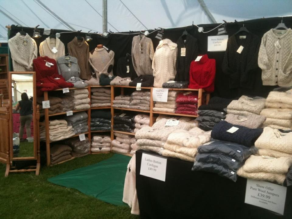 Our stand at the Badminton Horse Trials