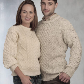 Traditional Cable Knit Aran Jumper